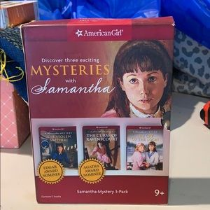 American Girl 3 Mysteries with Samantha Books
